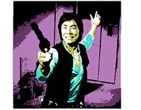 Han Sulu Warhol Filter