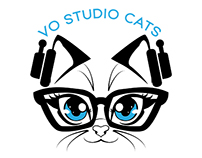 VO Studio Cats Branding
