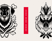 Chinese Zodiac Illustration Series