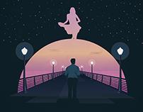 La La Land Poster Illustration (Fan)