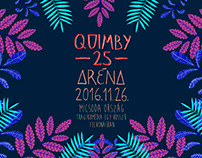 Quimby 25 poster illustration