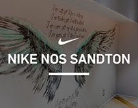 NIKE NOS SANDTON MURAL - TYPOGRAPHY