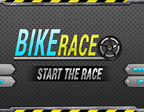 Bike Attack Racer UI