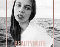 BEAUTY Mute Magazine Cover by Balint Nemes