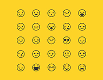 25 Free Emoticon Icons