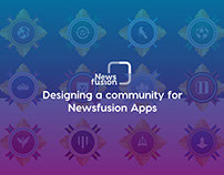 Community design for Newsfusion apps