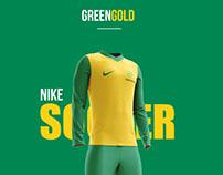 Nike Green and Gold Range
