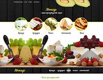 Design of website for company Avocado