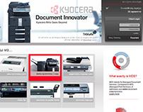Kyocera local website
