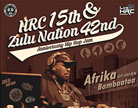 2015 HRC 15th & Zulu Nation 42nd Anniversary HIPHOP Jam