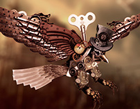 Steampunk Falcon