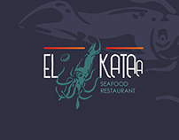 El-Kataa Logo design