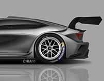 Sports Sedan Concept - Racing version