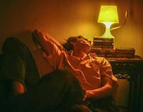 """Illumination Night"" Desire Homme Website Editorial"