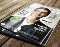 A4 Brochure Magazine Mockup 5