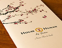 House of Hunan Menu Redesign