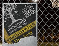 Poster - Ref: Richmond Street Redords