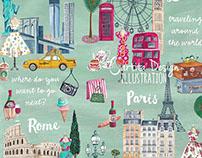 Illustrative & Patterns   Cartita Design ©2015
