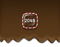 2048 Candy Puzzle Game