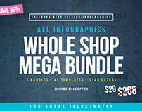 INFOGRAPHIC MEGA BUNDLE | Whole Shop