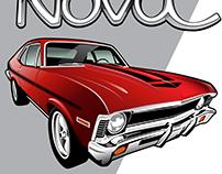 1971 Nova Illustration