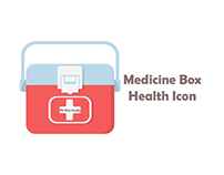 Medicine Box Health Icon