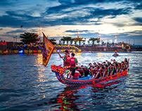 Dragon Boat Festival 2019 in Lugang, Taiwan