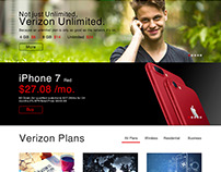Verizon Website - Redesign