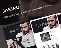 Freebie: Jakiro – fashion shop PSD template