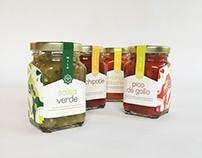 Tia Mia Gourmet Salsa Branding & Packaging