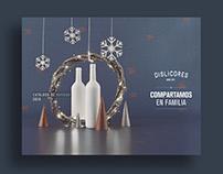 DISLICORES - Portada de Catálogo de Navidad 2016