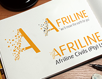 Afriline Civil Logo Design