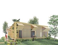 Casa Trama // Projeto Arquitetônico VII UFRGS // 2017