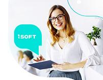 ISOFT website&logo rebranding