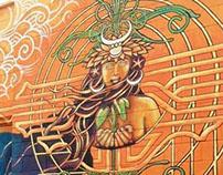 PowWow Hawaii Mural 2013