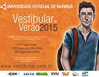 Vestibular UEM 2015