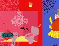 Illustrations 2010 - 2013