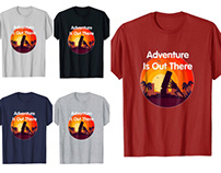 Adventure Is Out There T Shirt