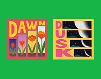 DAWN X DUSK Music Albums Design