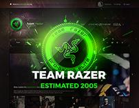 Team Razer eSports Gaming Template