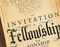 An Invitation to Fellowship invitation