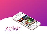 Xplor App - Adobe Icon Contest XD