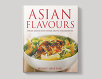Asian Flavours – Book Design