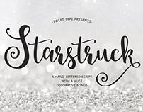 Starstruck Hand-lettered Script + Bonus
