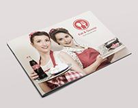 Restaurant Menu - 12 Pages