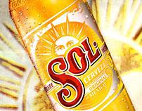 Product Shot Cerveza Sol