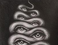 Snake, Eyes.