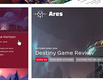 Ares Statamic Theme