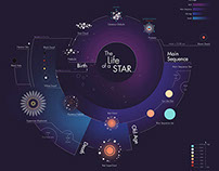 Infographic: The Life of a Star