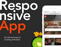 Responsve Web App